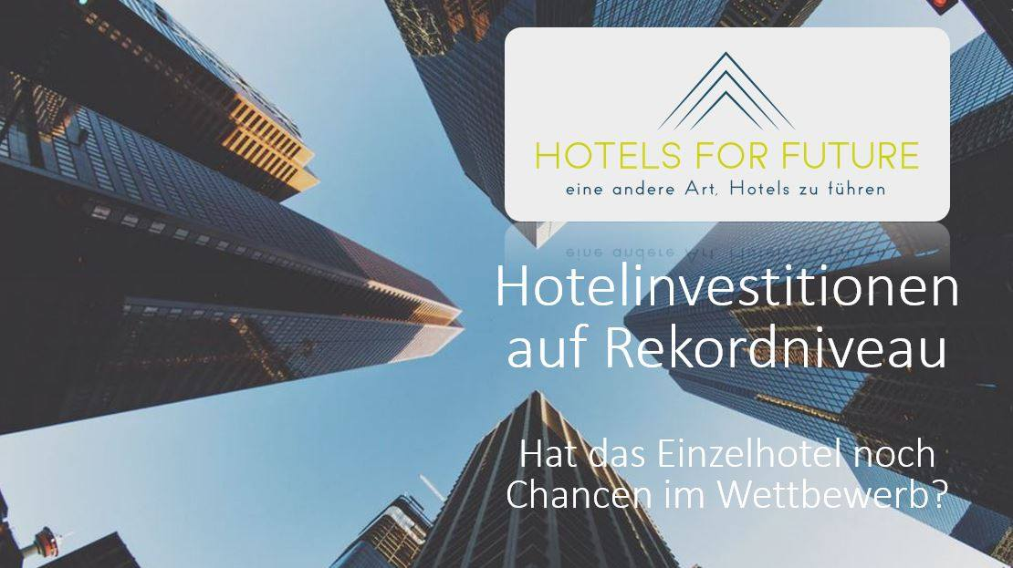 Hotelinvestitionen